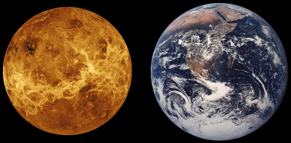 Venus Earth Comparison1